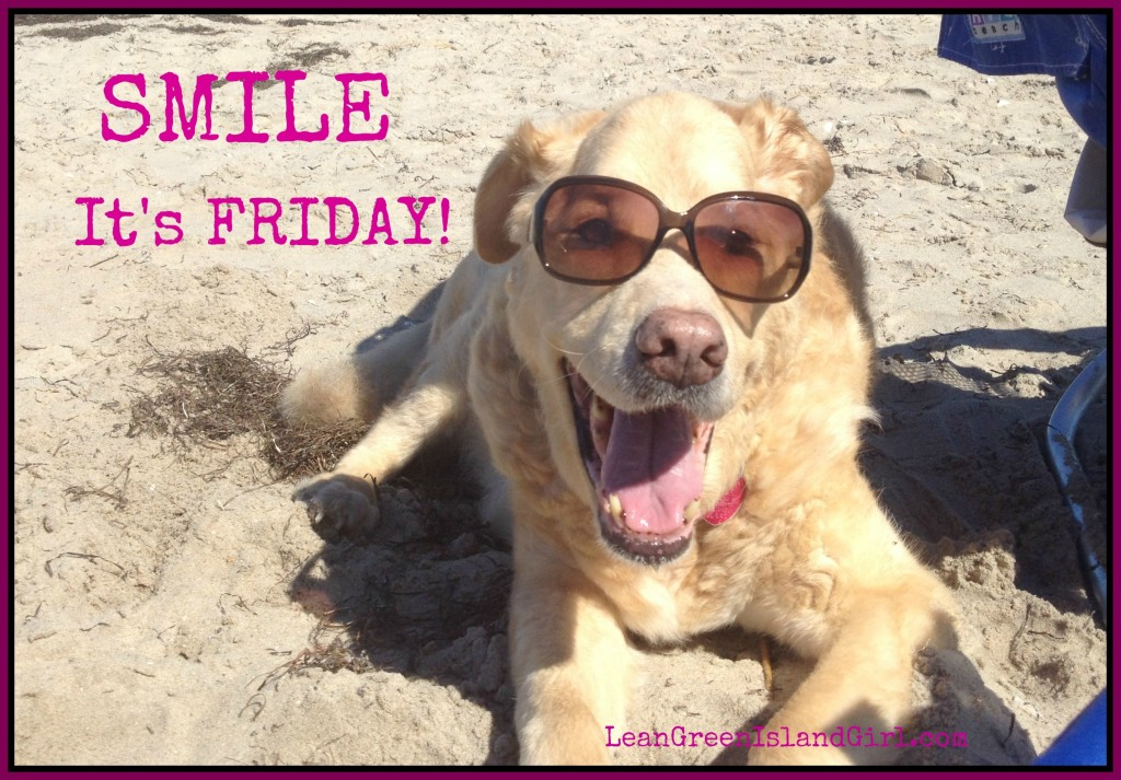 Smile. It's Friday!