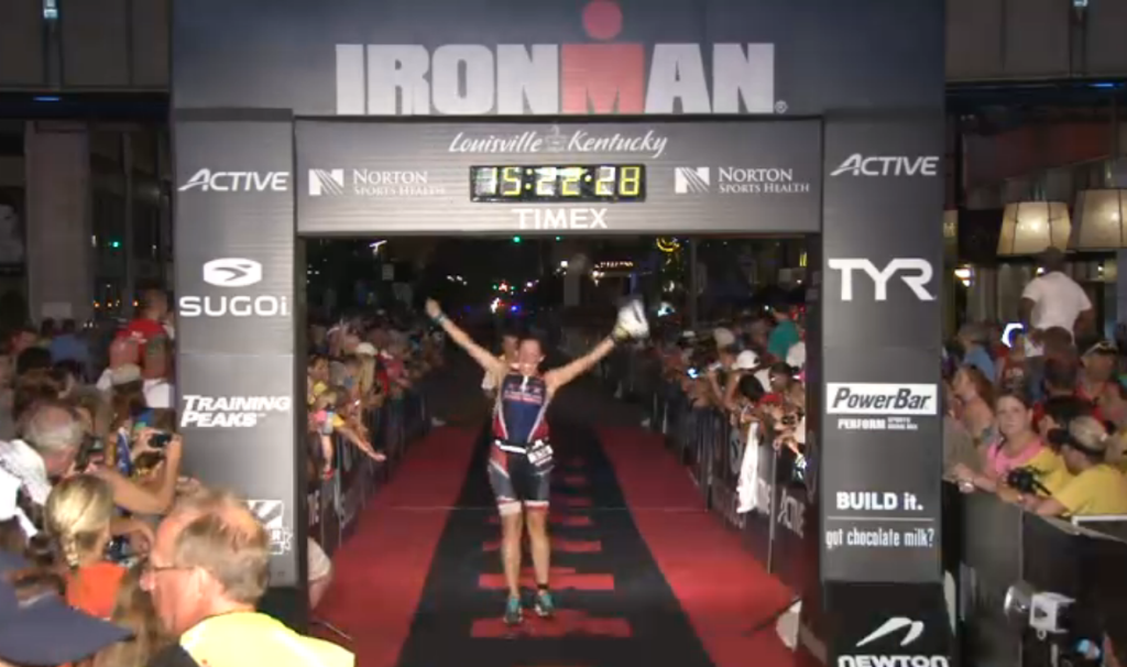 YOU ARE AN IRONMAN!