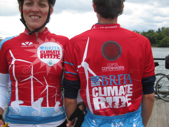 Climate Ride Jersey