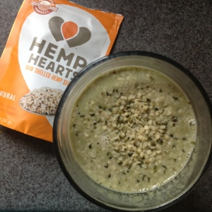 Hemp Hearts Pumpkin Smoothie