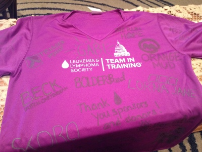 Team in Training Shirt 1