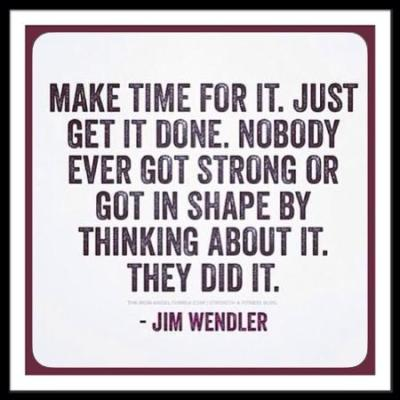 Make Time For It!