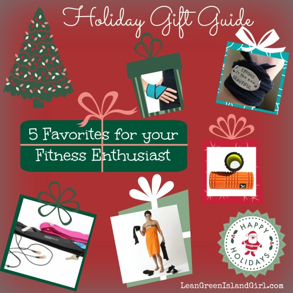 Holiday Gift Guide 5 Favorites for your Fitness Enthusiast | LeanGreenIslandGirl